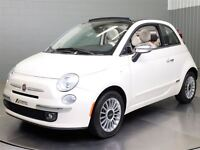 2012 Fiat 500C LOUNGE CONVERTIBLE MAGS CUIR