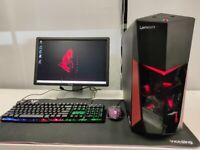 Lenovo Legion Gaming Computer PC - Intel i5 7400, 16GB DDR4, 1TB HD, GTX 1060)