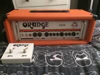 Orange CR120H Guitar Amp Head + Footswitch