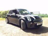 RELUCTANT SALE OF MINI COOPER S - '54 PLATE (ALTHOUGH, COMES WITH PRIVATE REG)