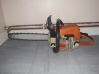 "stihl ms250 chainsaw 16"" bar and chain"