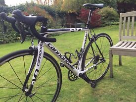 Cannondale Supersix Evo Hi Mod Dura Ace (54 cm), almost new wheels and groupset