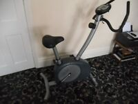 Carl Lewis Exercise Bike in good condition - sensors and display all working.