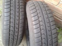 Tyres - 155/70 R13 (Passio) Like New