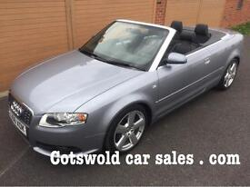 2006 AUDI A4 CONVERTIBLE S-LINE TDI *6 SPEED MANUAL*