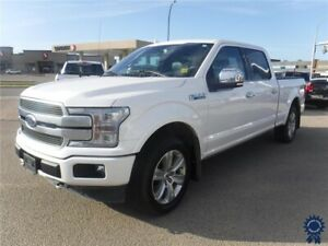 2018 Ford F-150 Platinum FX4 Supercrew 4X4 w/6.5' Box, 3.5L Gas