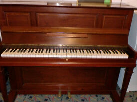 BROADWOOD UPRIGHT PIANO CASE RE SPRAYED CASE £180 CAN DELIVER CHRISTMAS