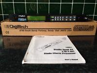DIGITECH STUDIO QUAD V2 4 IN 4 OUT MULTI FX PROCESSOR WITH MIDI