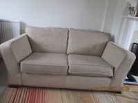 M&S 2 seater sofa in oat. £100. buyer to collect.