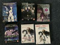 Ghost in the shell - various DVDS