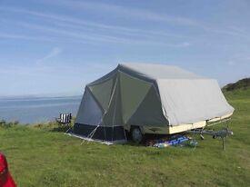 Camplet savanne trailer tent