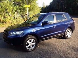 Hyundai Santa Fe 2.2 GSi **DIESEL**12 MONTHS MOT**TOWBAR**IDEAL FAMILY CAR**Part-Ex Welcome..