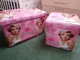 Marilyn Monroe storage box's