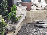 Garden orninents and planters GONE PENDING COLLECTION