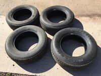 4 Bridgestone Dueller H/T Tyres off new Toyota Hilux 265/65 R17