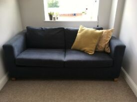 Ikea Sofa Bed Blue - Great Condition