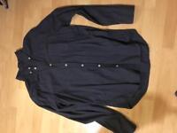 GAP slim fit blue shirt size large