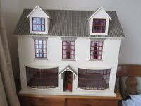 Double fronted dolls house shop