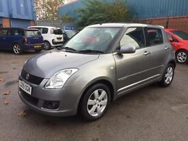 2009 SUZUKI SWIFT 1.5 PETROL GLX 5dr # GENUINE LOW 17,000 MILES! MINT CONDITION # CAT C