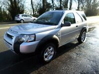 2006 LAND ROVER FREELANDER 2.0 TD4 COMMERCIAL IN METALLIC SILVER MOT UNTIL MARCH 2018
