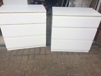 Chest of drawers - ikea kullen x2