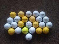 25 Srixon golf balls