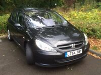 Peugeot 307 with 5 months mot 1.6 diesel 110hp 04