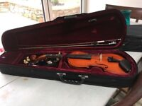 3/4 Size Stringers Violin and case