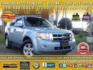2008 Ford Escape $71Wk-Leather-BackUpSenor