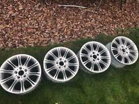 "18"" BMW MV2 Alloys Staggered M Sport Wheels - Refurbbed 18 months ago"