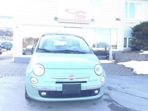 2012 Fiat 500 Lounge Pwr Sunroof