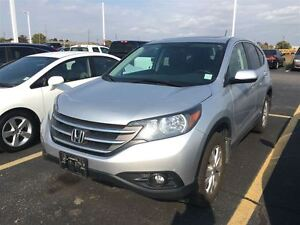 2014 Honda CR-V EX-L | 5SP | LEATHER | SUNROOF | REARVIEW CAMERA