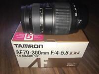 Tamron AF70-300mm F/4-5.6 macro NIKON FIT