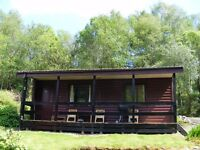 Shared accomadation available in timber lodge close to Loch Eck.