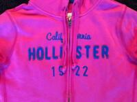 PINK HOLLISTER JUMPER