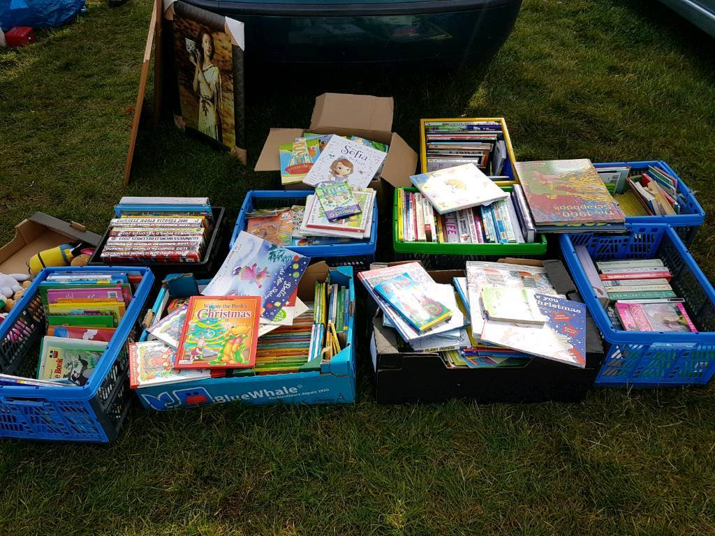 10 x boxes of books