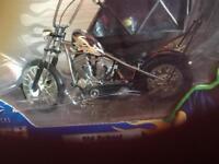 Orange County Choppers Old School model bike