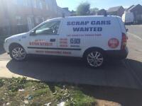Scrap car van wanted 07794523511 pick up same day cars vans 4x4 £100 plus