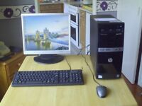 HP DESKTOP PC Complete set up £55