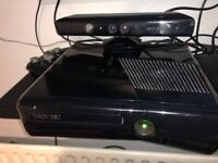 Xbox360 slim 250gb with Kinect