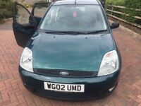 Clean FORD Fiesta - 1.4 Manual with MOT due in July 2019, comes with a 5-Speed Manual Gearbox.