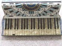 Italian Coronado Piano Accordion in need of repair/overhaul