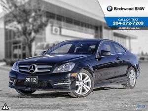 2012 Mercedes-Benz C-Class C250 Navigation Package!