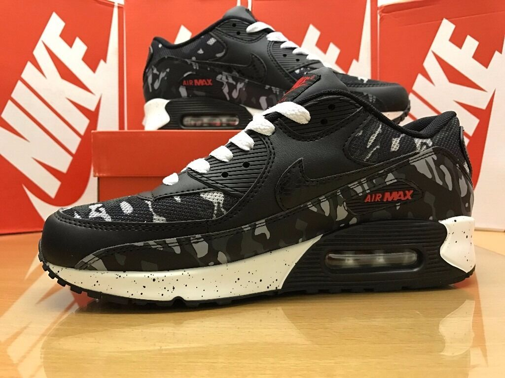 lpaai NIKE AIR MAX 90 TRAINERS CAMO *LIMITED EDITION* | in High Wycombe