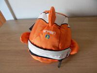 Toddler Littlelife Reins Backpack Clown Fish