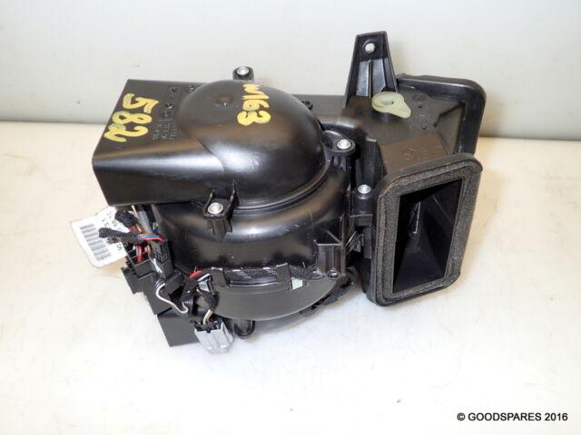 Rear Heater Blower Motor-A1638300308-(Ref.582)-02 Mercedes ML 270Cdi W163