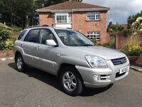 2006 KIA SPORTAGE 2.0 DIESEL 4X4 ** FULL YEARS MOT ** ALL MAJOR CARDS ACCEPTED