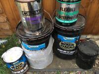 Black Jack Bitumen Sealant EverBuild Waterproofing - Shed - Flat Roof
