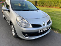2009 Renault Clio 1.2 16V Expression 5 Dr with 12 Months MOT& Full-Ser His&Low 90K Mileage