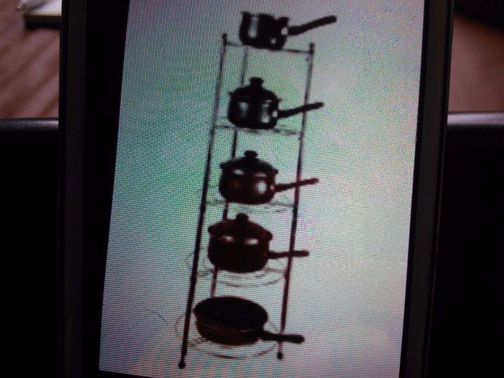 Five saucepan stand